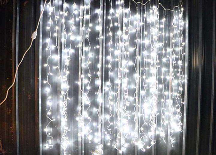2x2m Steady White Led Curtain Lights