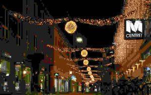 cross street motif lights